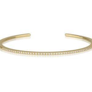 צמיד טניס יהלומים זהב